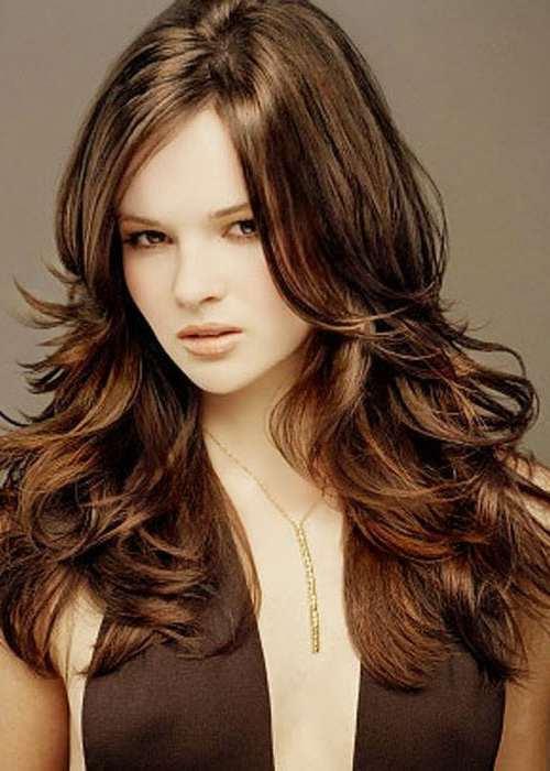 укладка на довге волосся фото