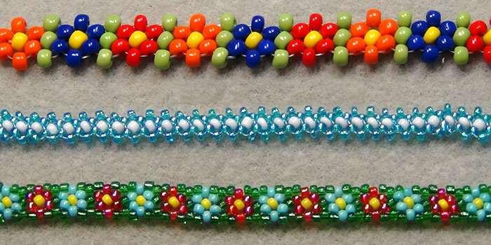 Як зробити браслет з бісеру — інструкції і схеми плетіння для ... 13ed99ed42ceb