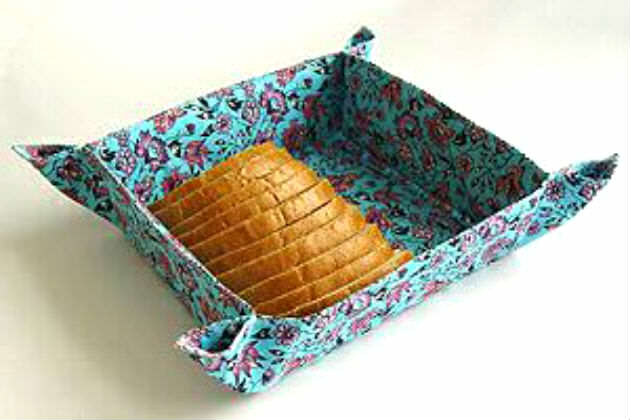 Хлебница своими руками ткани
