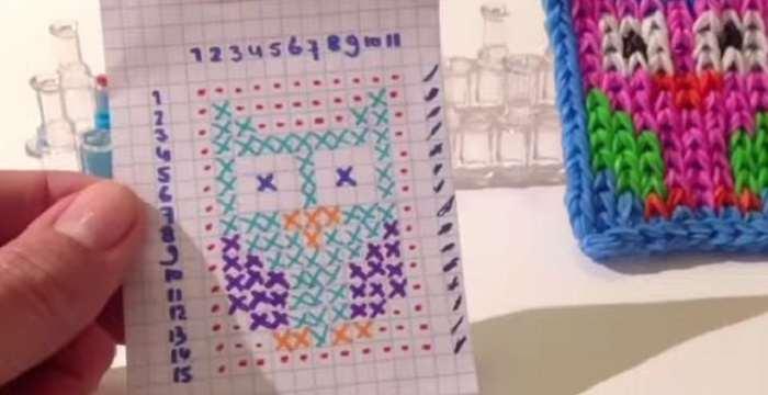 Плетение из резинок фигурок схемы с картинками 144