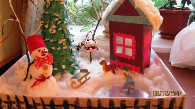 Поделки зимние для детского сада своими руками - Danetti.Ru