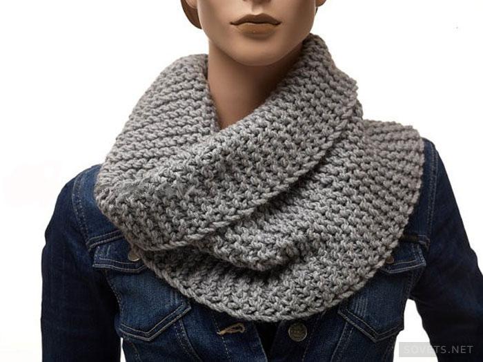 Мужской шарф английской резинкой схема фото 895
