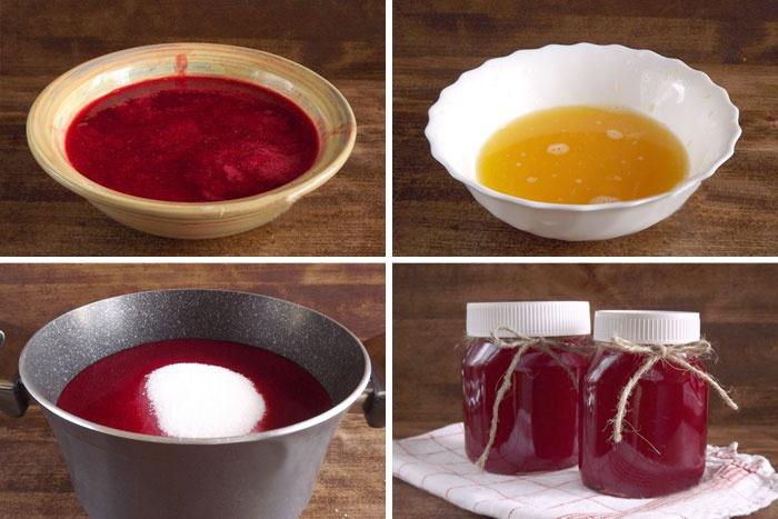 Как сделать желе из красной смородины блендером