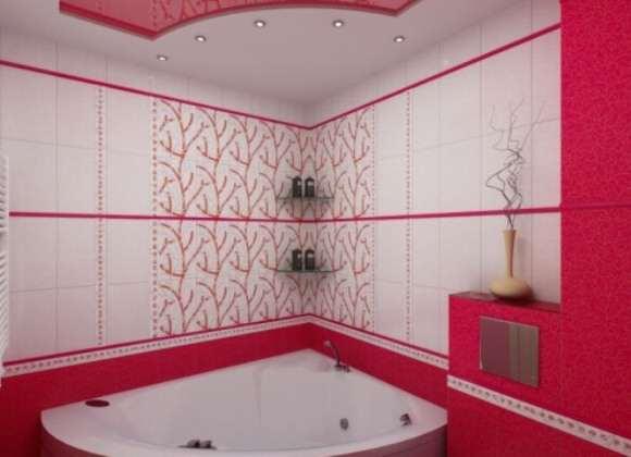 Ремонт ванной комнаты дизайн плитки