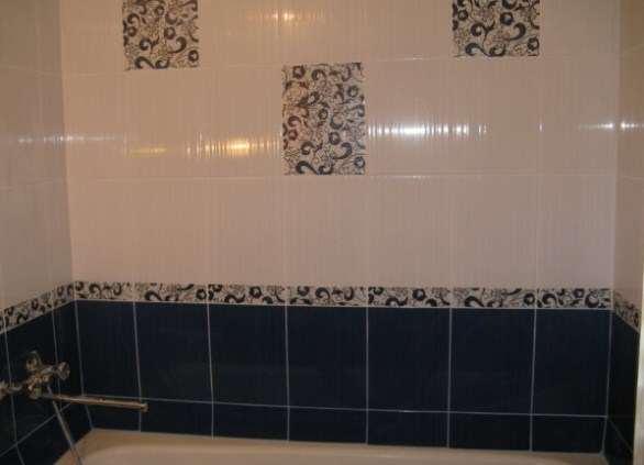 Образцы декора плитки в ванной