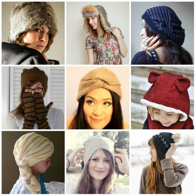 Самые модные шапки своими руками 1072
