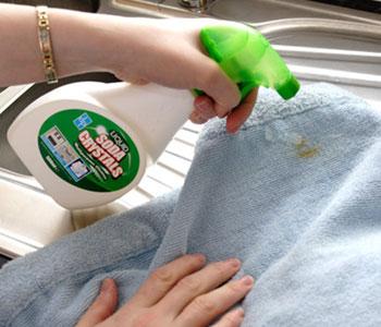 Как вывести пятно с детских вещей в домашних условиях