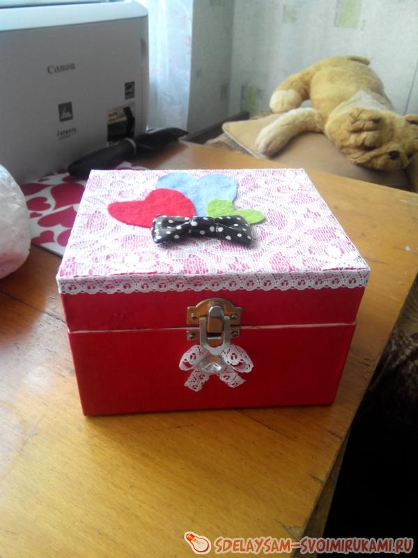Как сделать коробочку своими руками в домашних условиях