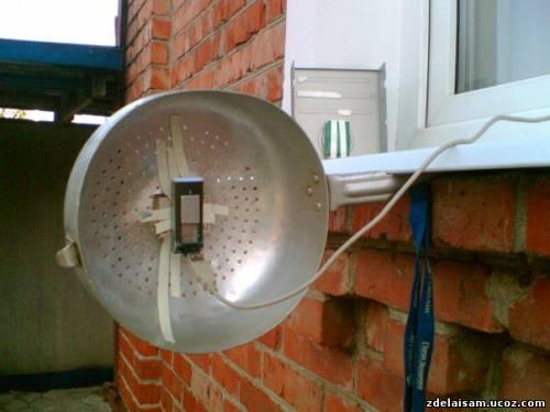 Рефлектор для 3g модема своими руками 58