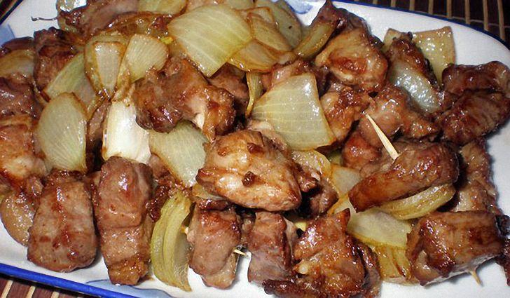 Свинина жареная кусочками рецепты