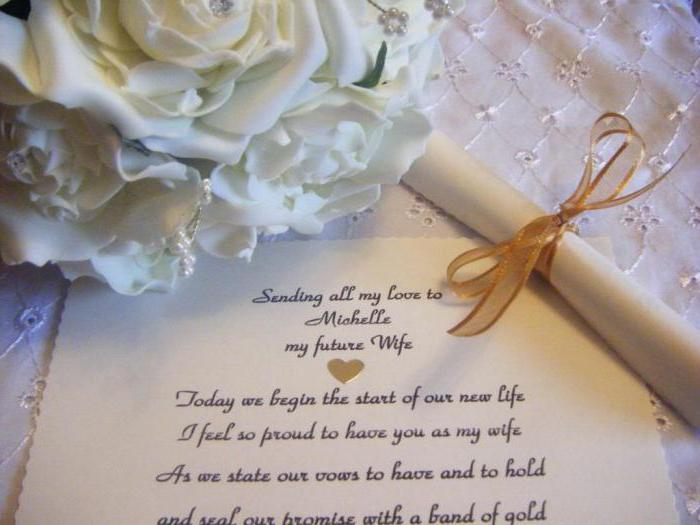 Поздравления с днем свадьбы своими словами красивое невесте