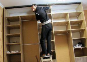 Как сделать дверь для шкафа купе своими руками в домашних условиях 56