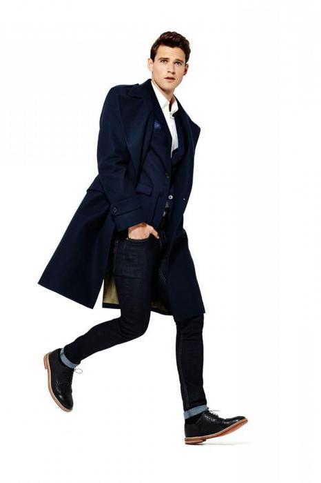 З чим носити чоловічі осіннє пальто  698dd2cdb9d69