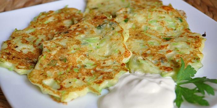 Рецепты приготовления оладий из кабачков