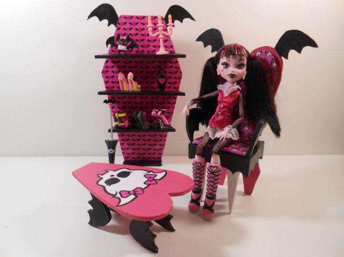 Стул для кукол монстер хай своими руками
