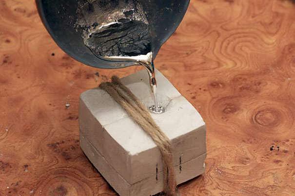Где в домашних условиях найти олово
