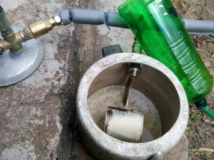 Парогенератор для бани на газу своими руками