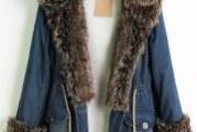 Зимова куртка джинсова