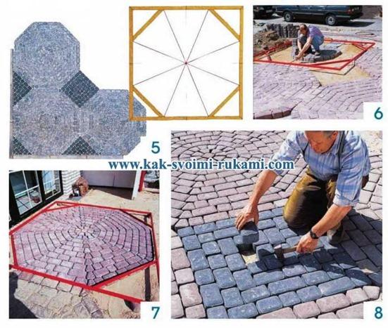 Как сделать качественную тротуарную плитку своими руками 12