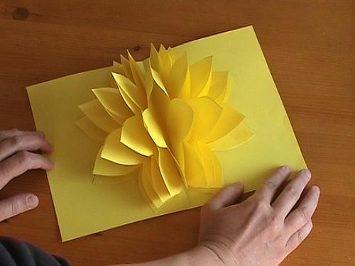 Фото открыток из бумаги своими руками