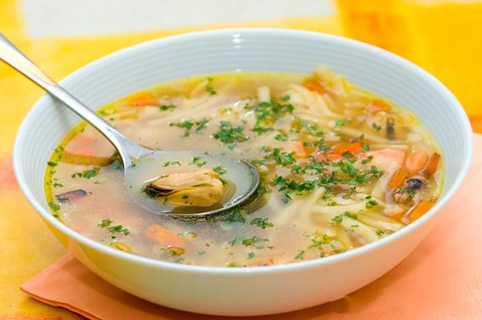 рецепти супів для годуючих мам