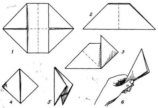 Как сделать из бумаги хлопушку новогоднюю