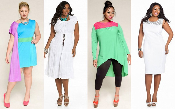 aa36620ecdcb4a Жіночі літні сукні великих розмірів для повних жінок