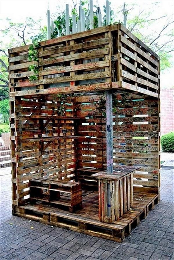 Мебель из деревянных паллет своими руками 41