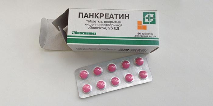 Какие пить таблетки от поджелудочной железы
