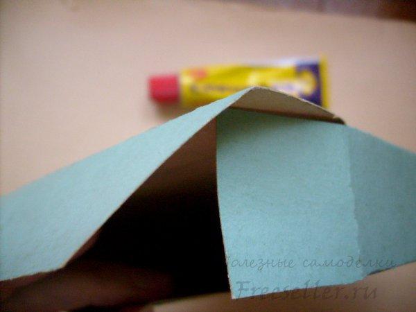 Как сделать из толстого картона коробку