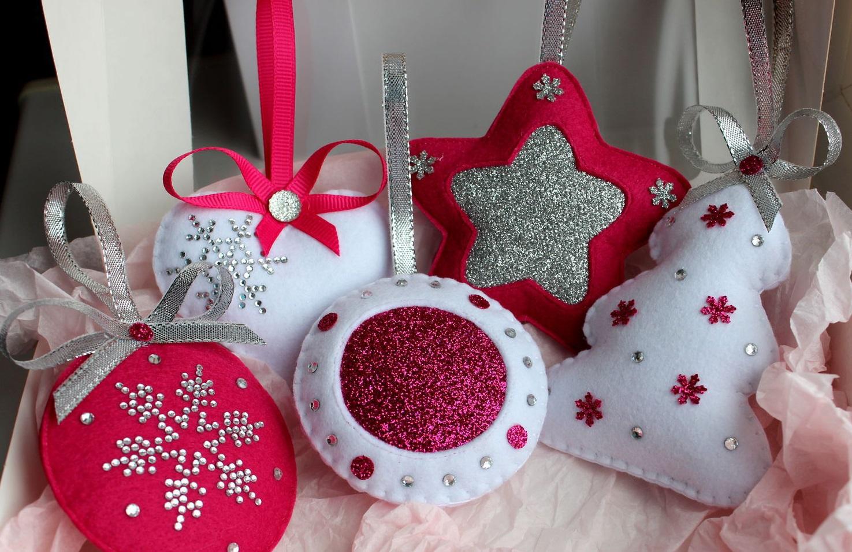 Новогодние игрушки своими руками не сложные но красивые