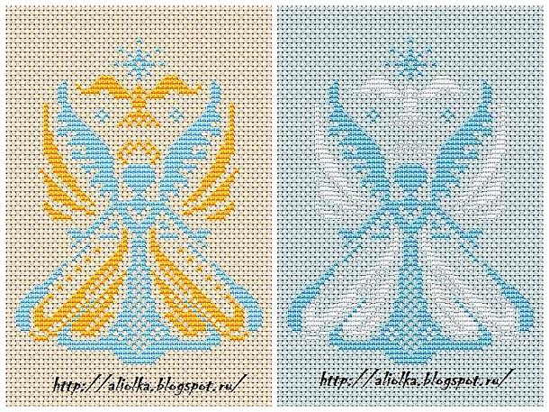 Ангелы своими руками схемы фото 435