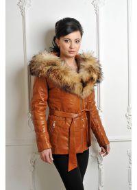 206Куртки кожаные женские с мехом цена