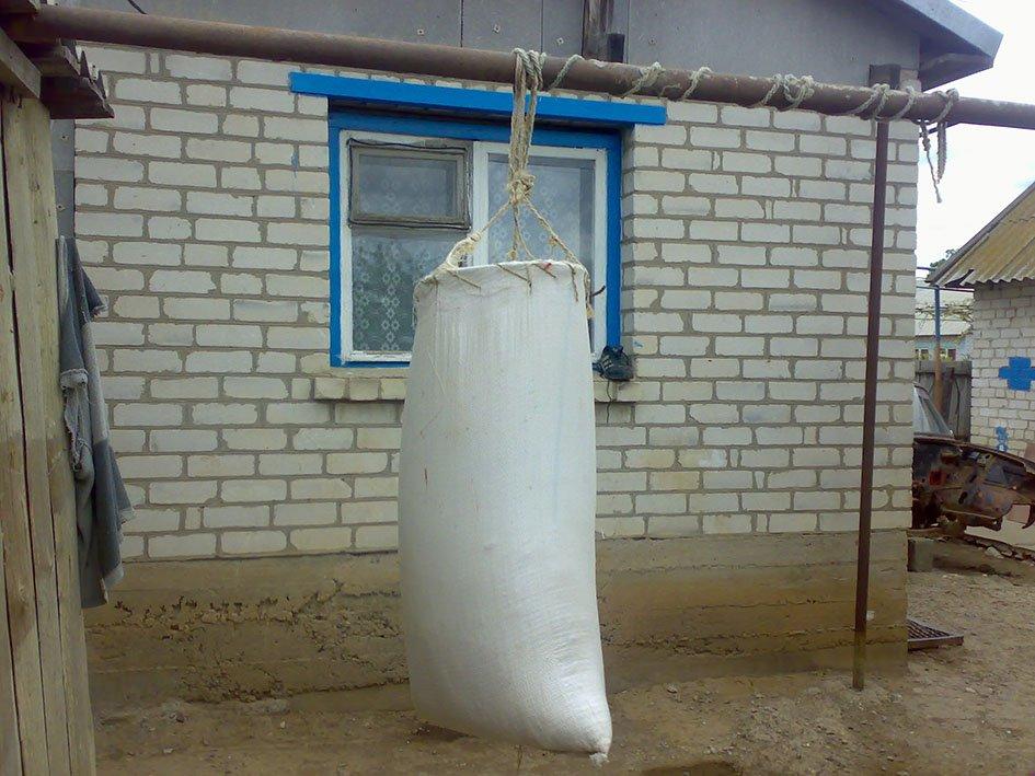 Боксерская груша мешок своими руками
