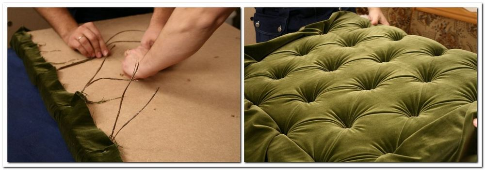Как обтянуть кровать