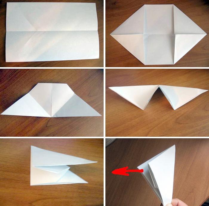 Как сделать из бумаги очень громкую хлопушку из
