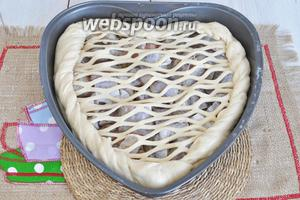Пирог с минтаем из дрожжевого теста рецепт пошагово