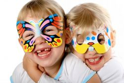 Новогодние маски для детей своими руками - шаблоны