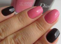 Сочетание цветов лака для ногтей (36 фото маникюр из двух оттенков) 27