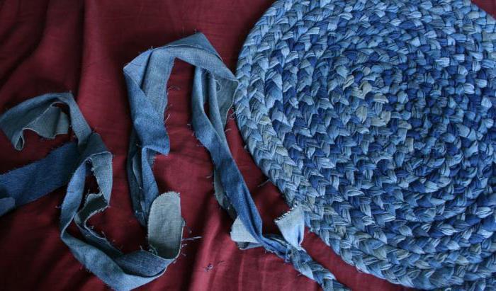 из джинса своими руками плетение