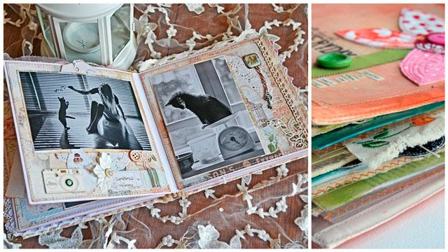 Фото альбомы скрапбукингу своими руками