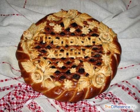 Как украсить дрожжевой закрытый пирог