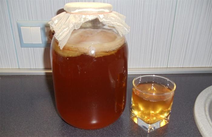 Напиток гриб в домашних условиях 33