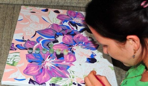 Рисование по номерам шедевр своими руками
