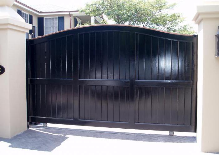 откатные ворота в динской