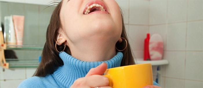 Ингаляции беременным при боли в горле