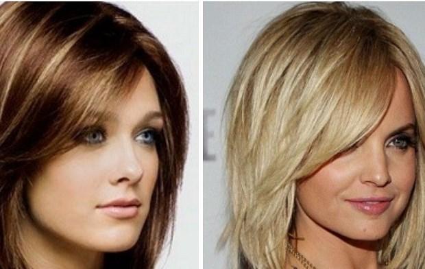 Модные прически на средней длины волосы