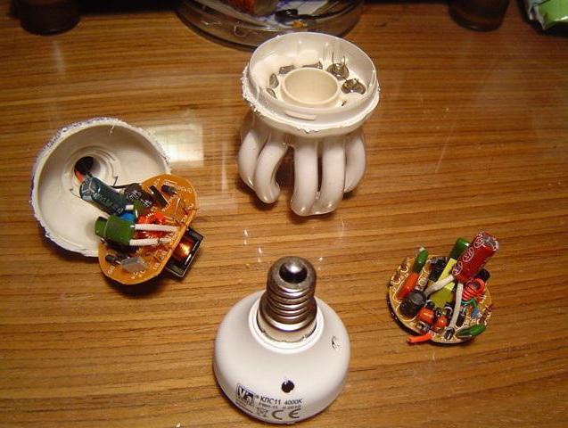 Ремонт экономных лампочек своими руками 41