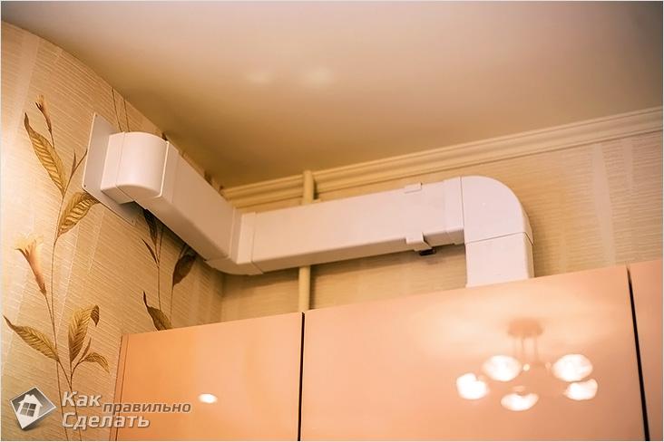 Как лучше сделать вентиляцию в кухне