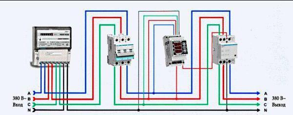 Как сделать 380 вольт из 3 фаз